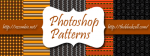 Photoshop Halloween Patterns